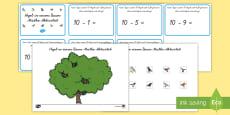 Baum Zählen Subtrahieren Spiel