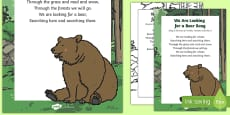 We Are Looking for a Bear Song