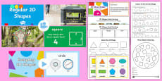 KS1 2D Shapes and Their Properties Video Activity Pack