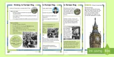 KS1 VE Day Differentiated Fact File