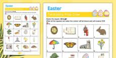 Elderly Care Easter Fundraising Sheet