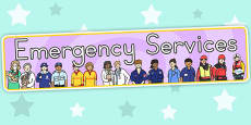 Australia - Emergency Services Display Banner