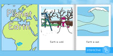 Planet Earth Emergent Reader eBook