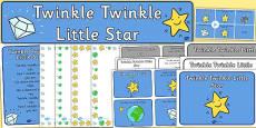 Twinkle Twinkle Little Star Resource Pack
