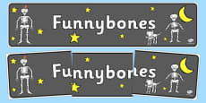 Display Banner to Support Teaching on Funnybones
