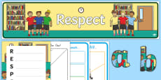 Respect Lesson Teaching Pack