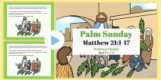 Palm Sunday PowerPoint Romanian Translation