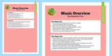 2014 Curriculum Music Overview