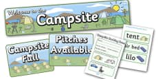 Campsite Role Play Pack