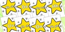 A-Z On Stars Welsh