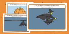 Halloween Playdough Mats Arabic Translation