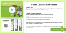 Year 3 Term 3 Fiction Reading Assessment Guided Lesson Teaching Pack