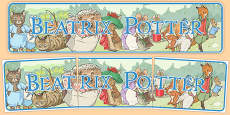 Beatrix Potter Display Banner