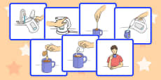 Making a Cup of Tea Sequencing Cards