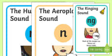 Visual Supports for Speech Sounds Nasals