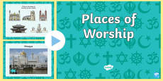 Places of Worship PowerPoint