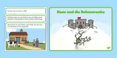 Jack and the Beanstalk Story German
