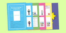 All About Me Book for Person Centred Review Primary
