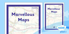 PlanIt - Geography Year 5 - Marvellous Maps Unit Book Cover