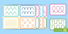 Mark Making Pattern Cards