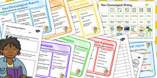 Teaching Assistant Non-Chronological Report Resource Pack