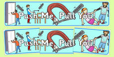Push Me Pull You Display Banner