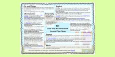 Jack and the Beanstalk Lesson Plan Ideas KS1