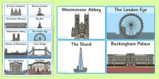 London Landmark Cards