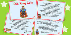 Old King Cole Story Sequencing