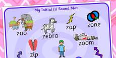 Initial z Sound Mat