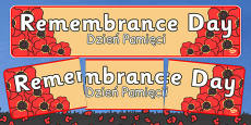Remembrance Day Banner Polish Translation