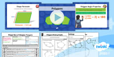 PlanIt Y6 Properties of Shapes Lesson Pack Classifying Geometric Shapes (3)
