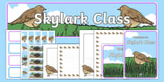 Skylark Class Resource Pack