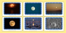 The Moon Display Photos