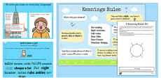 Recognise Some Different Forms of Poetry Kennings Lesson Teaching Pack