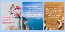 Elderly Care Summer Quotes