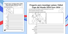 Football Euro 2016 Country Fact File Spanish