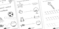 Line Handwriting Activity Sheets