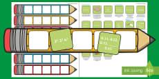 Year 6 Maths Pencil Targets Assessment Tracker