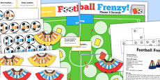 Phase 3 Sounds Football Board Game