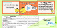 PlanIt Y6 Term 1A Assess and Review Spelling Pack