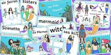 The Little Mermaid Story Sack