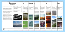 World Rivers Fact Sheets PowerPoint - rivers, rivers around the