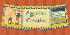 Ancient Egyptian Creation Story PowerPoint