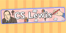 CS Lewis Display Banner