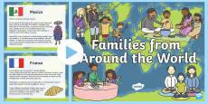 My Family KS1 Families Around The World PowerPoint Presentation