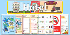 Hotel Role Play Pack