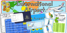 Airport Role Play Pack - Australia