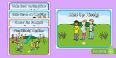 Outdoor Play Display Signs Pack