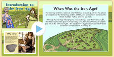 Introduction to the Iron Age PowerPoint